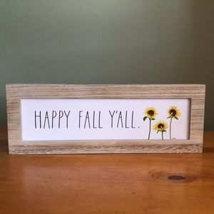 Rae Dunn Fall Sign